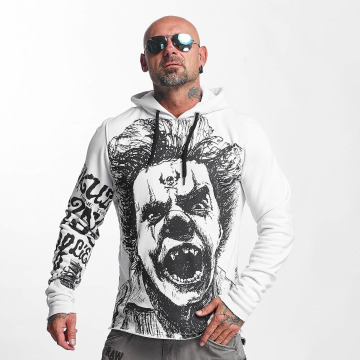 Yakuza Hoody Allover King wit