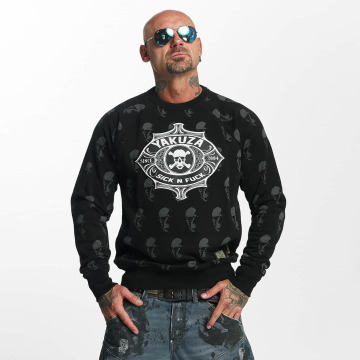 Yakuza Jumper Sick N Fuck black