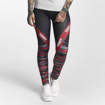 Yakuza Leggings/Treggings Military Lady Sports kamuflasje