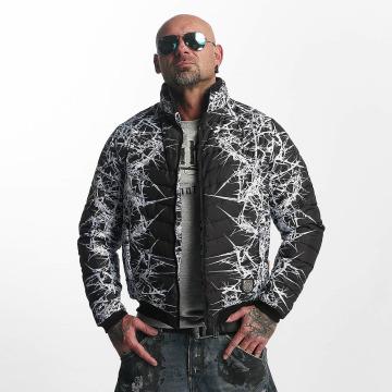 Yakuza Lightweight Jacket Thorns Quilted black
