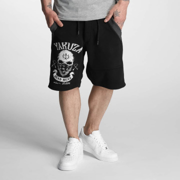 Yakuza Pantalón cortos Kanto negro