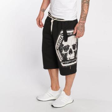 Yakuza Pantalón cortos Skull Label negro