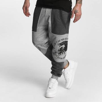 Yakuza Pantalón deportivo Punx Two Face Antifit gris