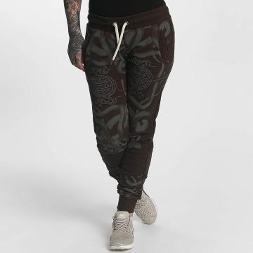 Yakuza Pantalón deportivo Sick N Fuck marrón