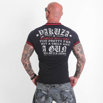 Yakuza Poloshirt Pretty Far schwarz