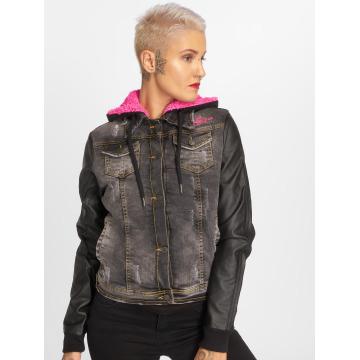Yakuza Prechodné vetrovky Jacket Black Vintage èierna
