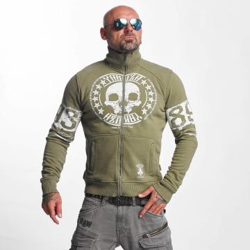 Yakuza Prechodné vetrovky Skull Label zelená