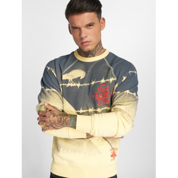 Yakuza Pullover Read Crow yellow