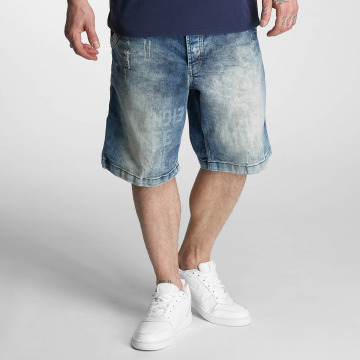 Yakuza Shorts Caught In A Circle blau