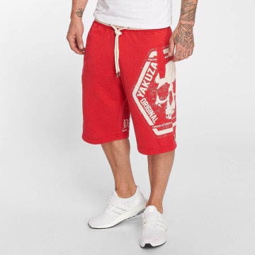 Yakuza shorts Skull Label rood