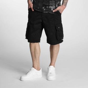 Yakuza shorts Skull Label zwart