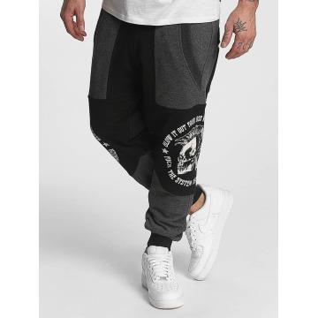 Yakuza Spodnie do joggingu Punx Two Face Antifit czarny