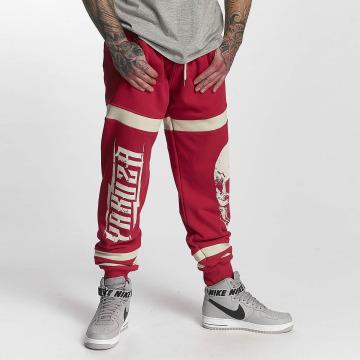 Yakuza Spodnie do joggingu Skull czerwony