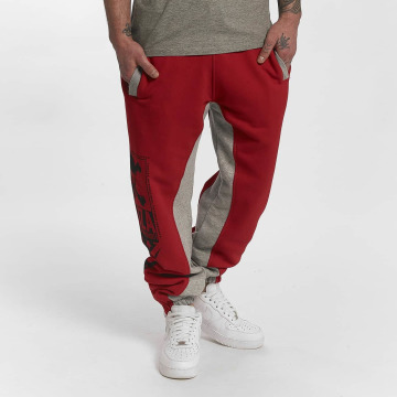 Yakuza Spodnie do joggingu Two Face czerwony