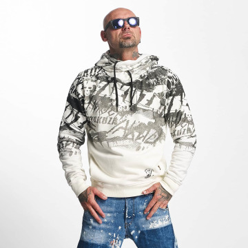 Yakuza Sweat capuche Allover blanc