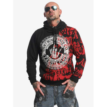 Yakuza Sweat capuche Club noir