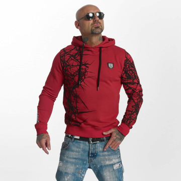Yakuza Sweat capuche Pointed rouge