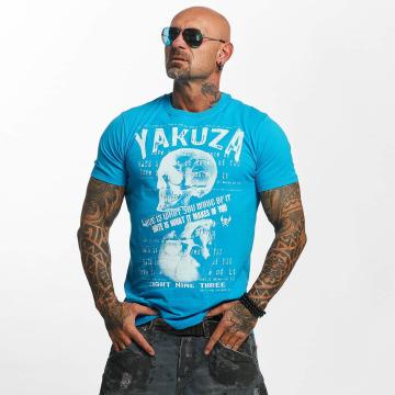 Yakuza T-shirt Love Hate blu