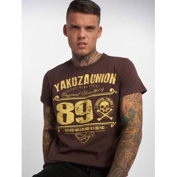 Yakuza T-Shirt 893 Union braun