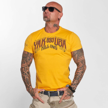 Yakuza T-Shirt Fallout gelb