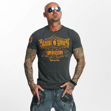 Yakuza T-Shirt Blaze N Glory grey