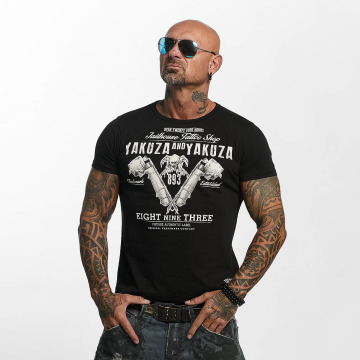 Yakuza T-Shirt Tattoo Shop noir