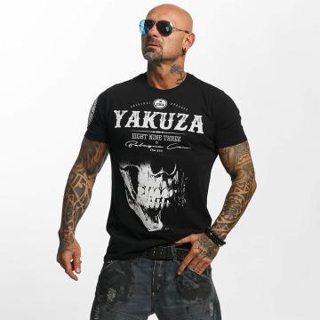 Yakuza T-Shirt Daily Skull noir