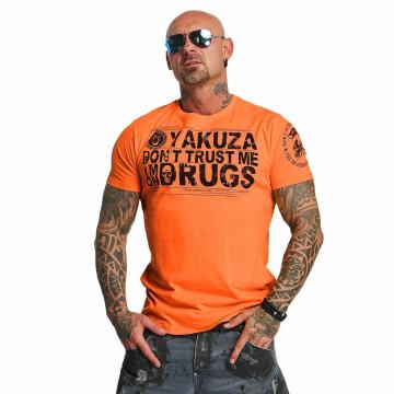 Yakuza t-shirt Trust oranje
