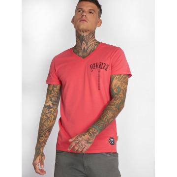Yakuza t-shirt Skull V02 pink