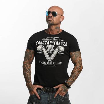 Yakuza T-shirt Tattoo Shop svart