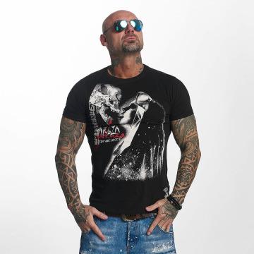 Yakuza t-shirt Deadly Kiss zwart