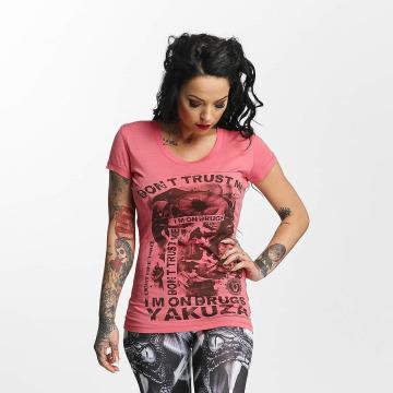 Yakuza T-skjorter Don't Trust Me rosa