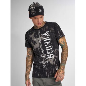 Yakuza T-skjorter Dark Side svart