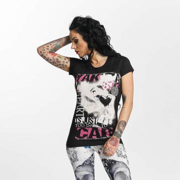 Yakuza T-skjorter Care svart
