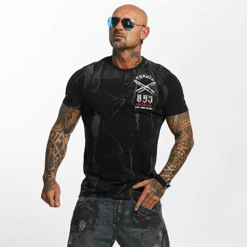 Yakuza T-skjorter Blaze N Glory svart