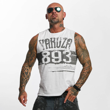 Yakuza Tank Tops Yent Trucker white