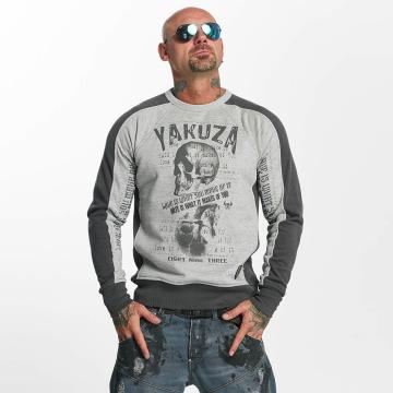 Yakuza trui Love Hate grijs