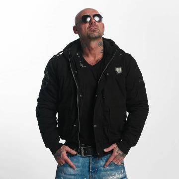 Yakuza Winter Jacket Trade Of Kings black