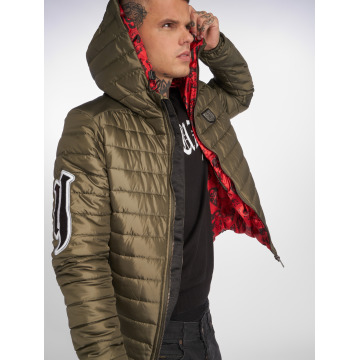 Yakuza Winter Jacket Eight Quilted green