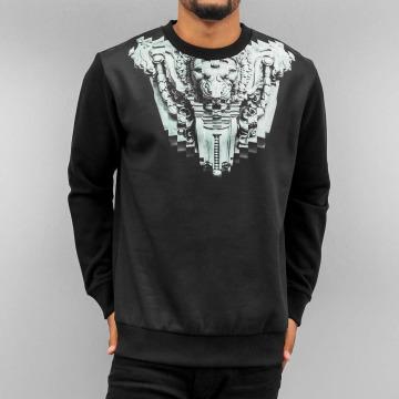 Yezz Pullover Facade schwarz