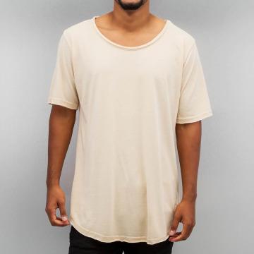Yezz T-shirt longoversize Long beige