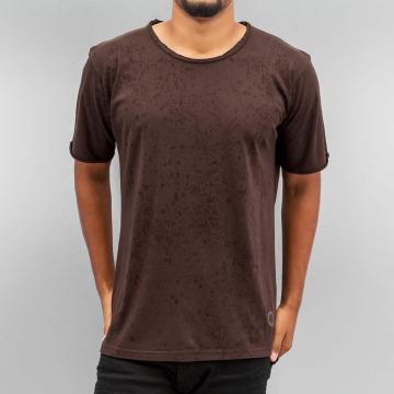 Yezz T-shirt Splash marrone