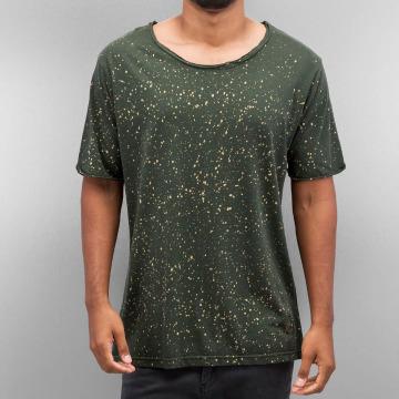 Yezz T-Shirty Dots oliwkowy