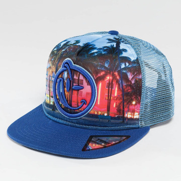 Yums Casquette Trucker mesh South Beach Day 2.0 bleu