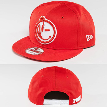 Yums Snapback Caps Era Classic Outline czerwony