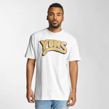 Yums T-shirt Oh My Lion bianco