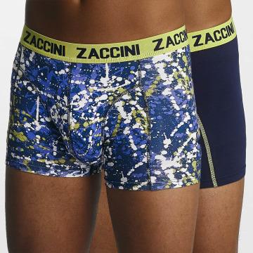Zaccini  Shorts boxeros Paint azul