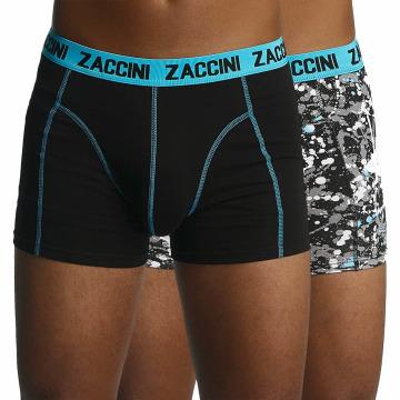Zaccini  Shorts boxeros Paint negro