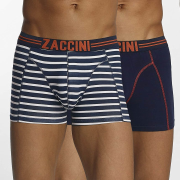 Zaccini Boxer Short Stripe 2-Pack blue