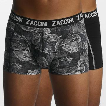 Zaccini Boxershorts Winter Flower schwarz